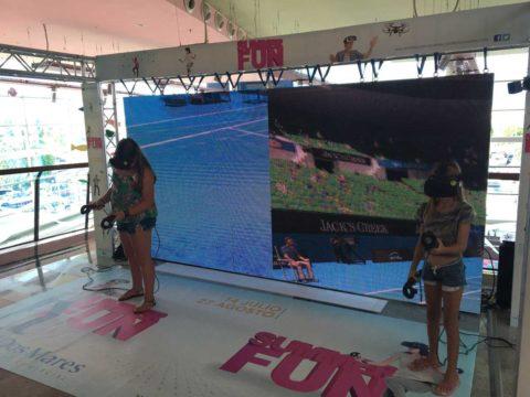 Evento de realidad virtual