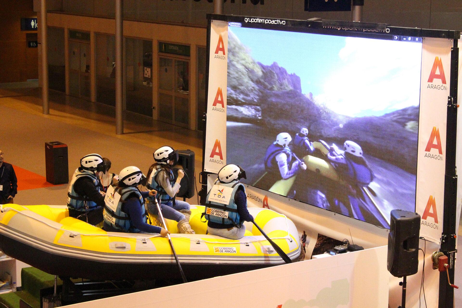 Simulador de Rafting