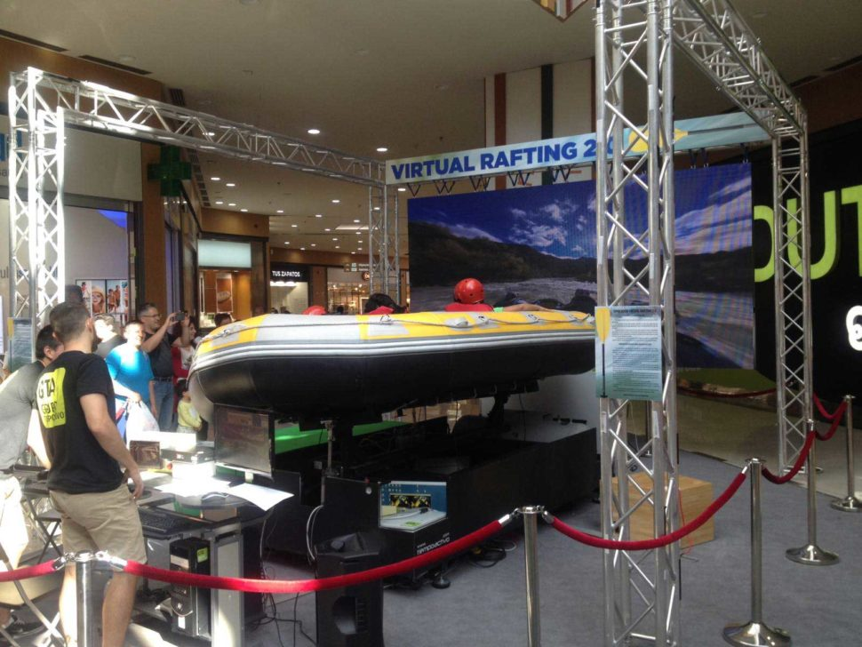 Rafting virtual