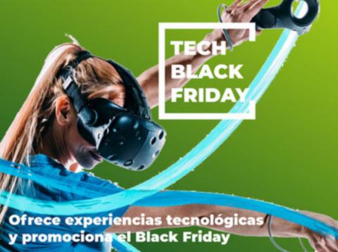 Experiencias tecnológicas para el Black Friday en Realidad Virtual