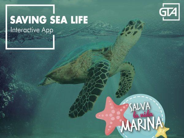 Presentamos... Saving Sea Life, otra actividad interactiva de [GTALab]