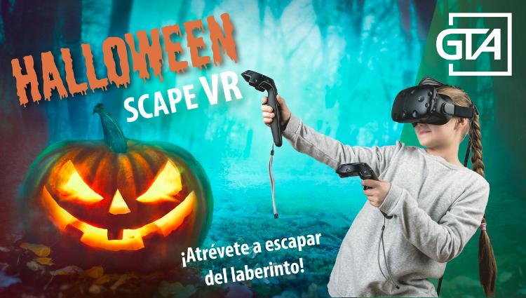 Halloween Escape VR ...que no te atrapen los monstruos!!!